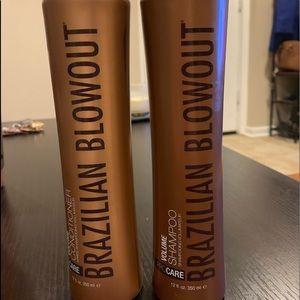 Brazilian Blowout Volume Shampoo and Conditioner